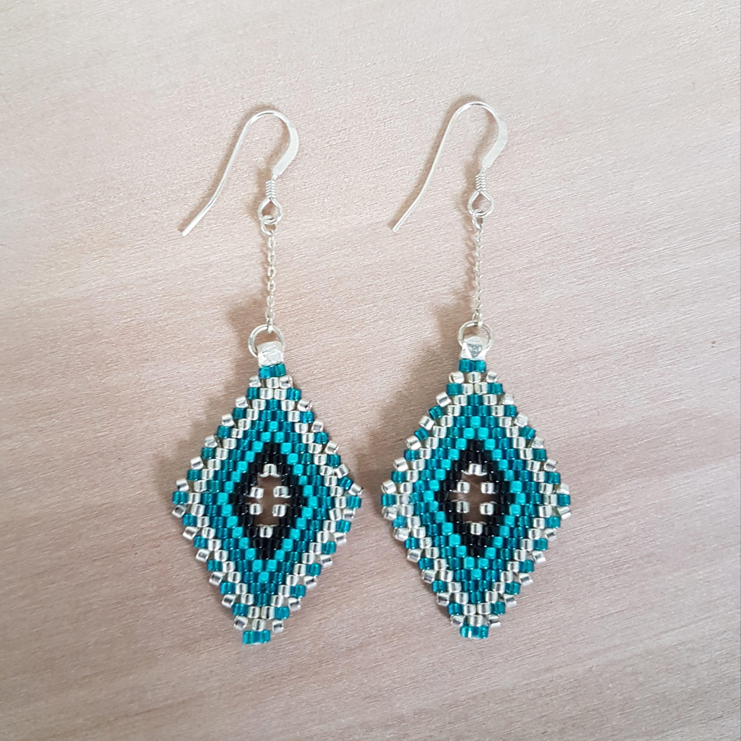 Boucles d'oreilles LINA [turquoise]