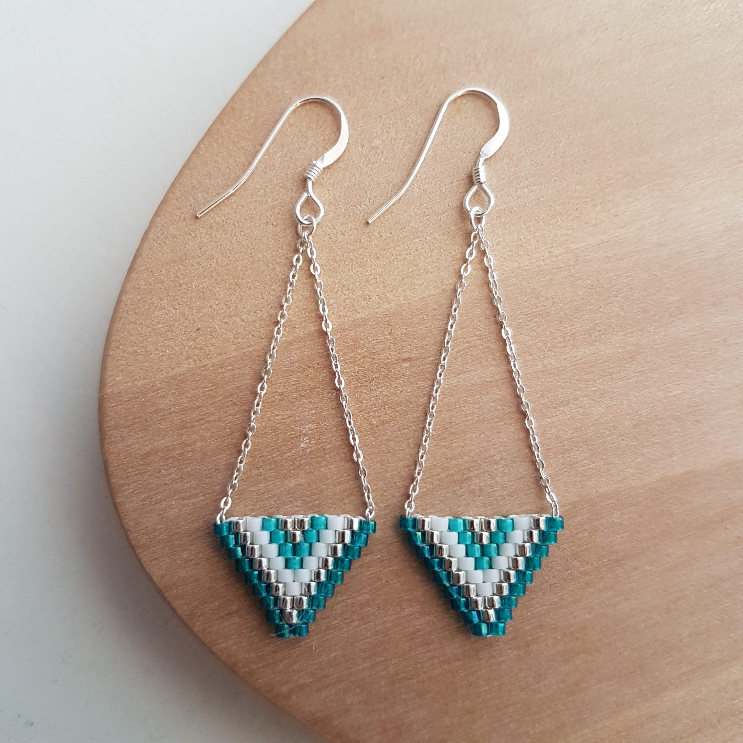 Boucles d'oreilles ALEXANDRA [turquoise]