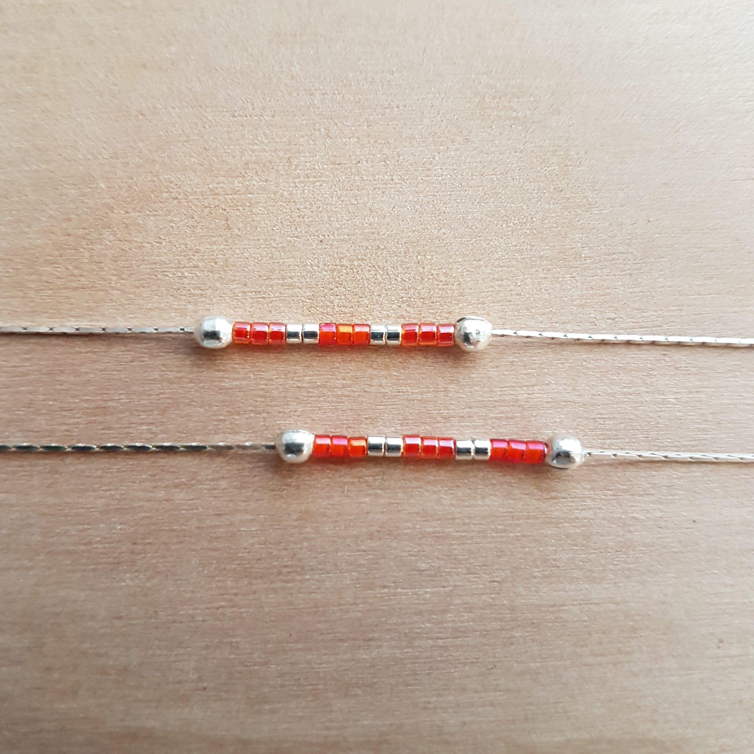 Bracelet LES PETITS CUMULABLES [rouge]