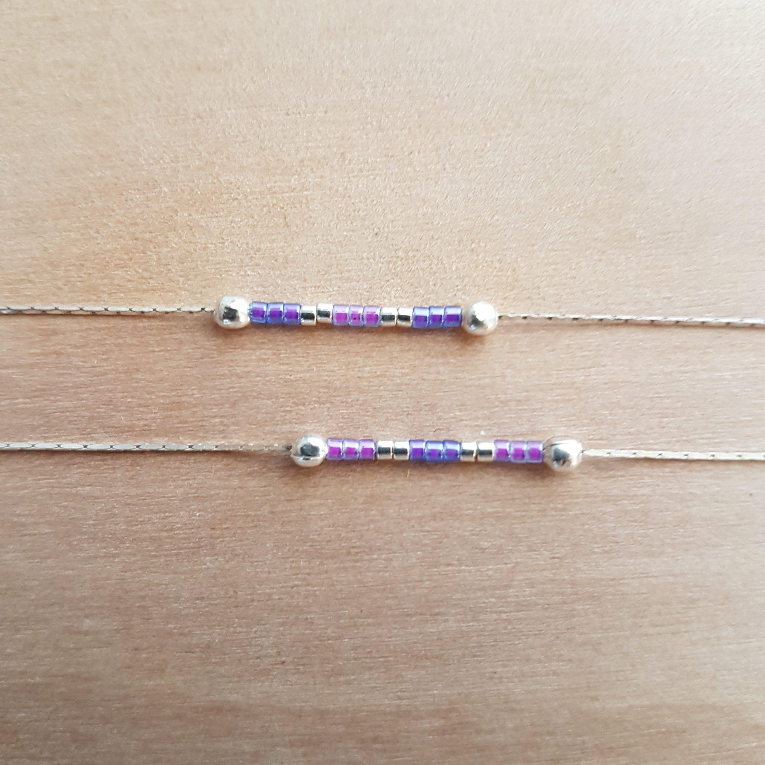 Bracelet LES PETITS CUMULABLES [violet]
