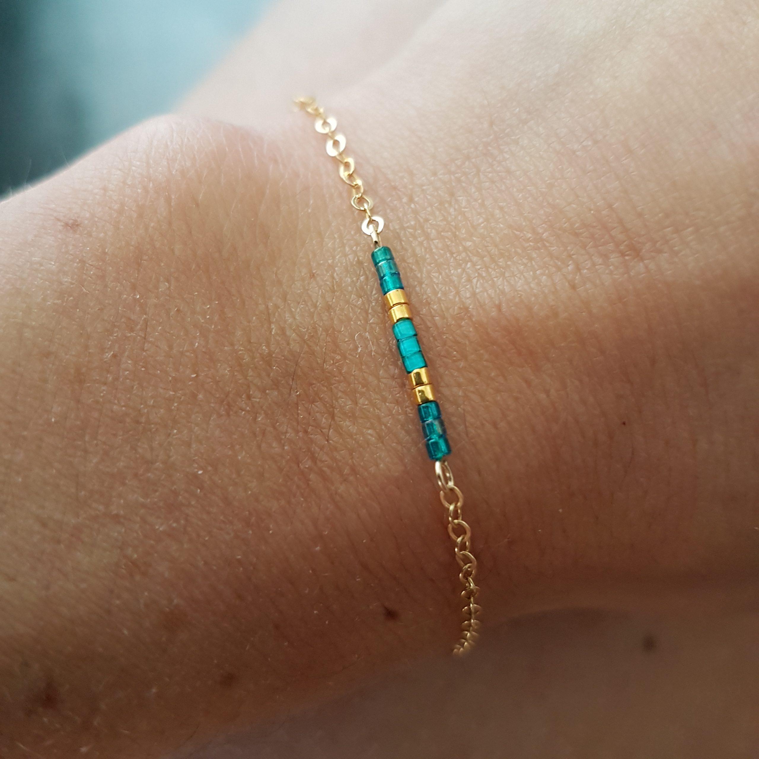Bracelet AGATHE [turquoise]