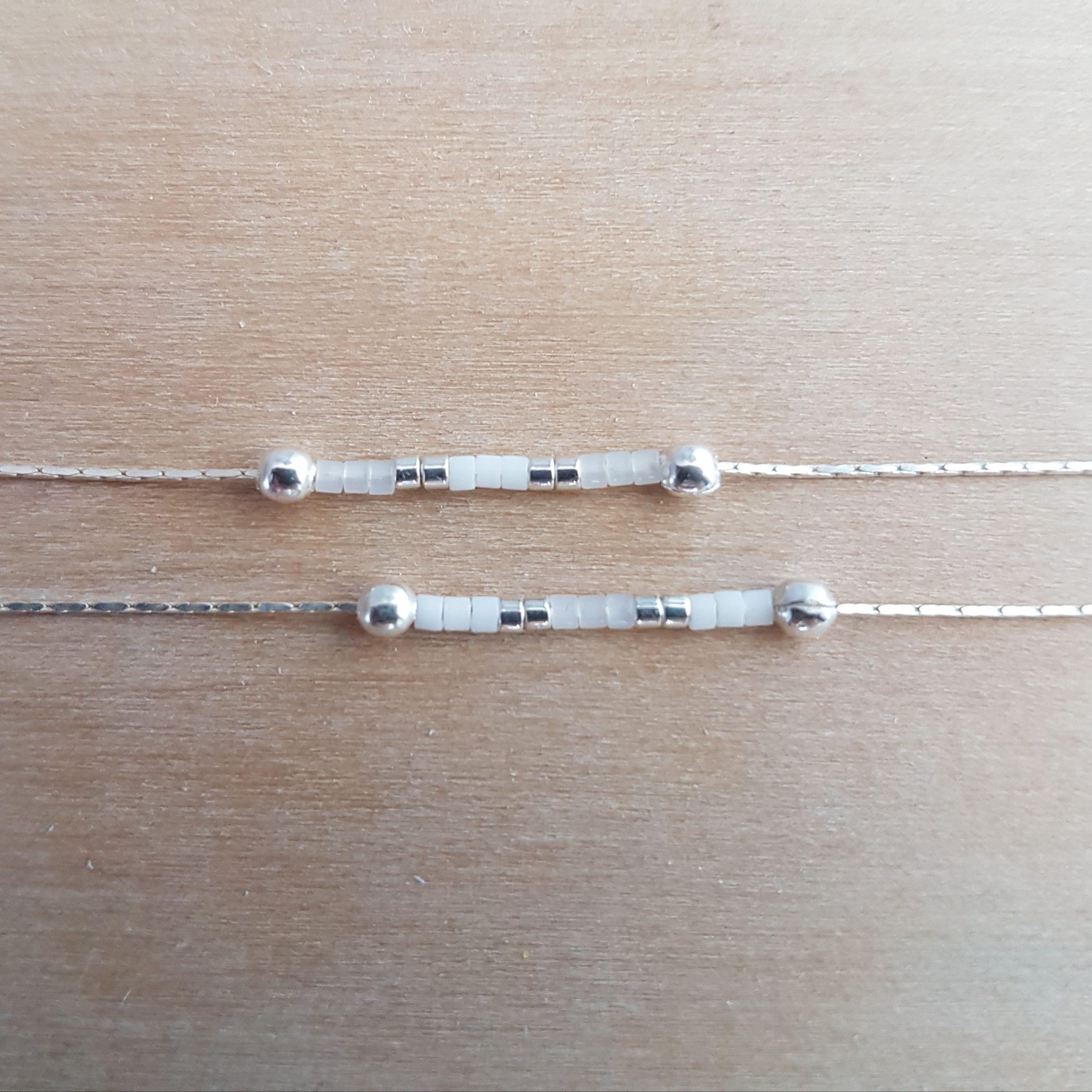 Bracelet LES PETITS CUMULABLES [blanc]