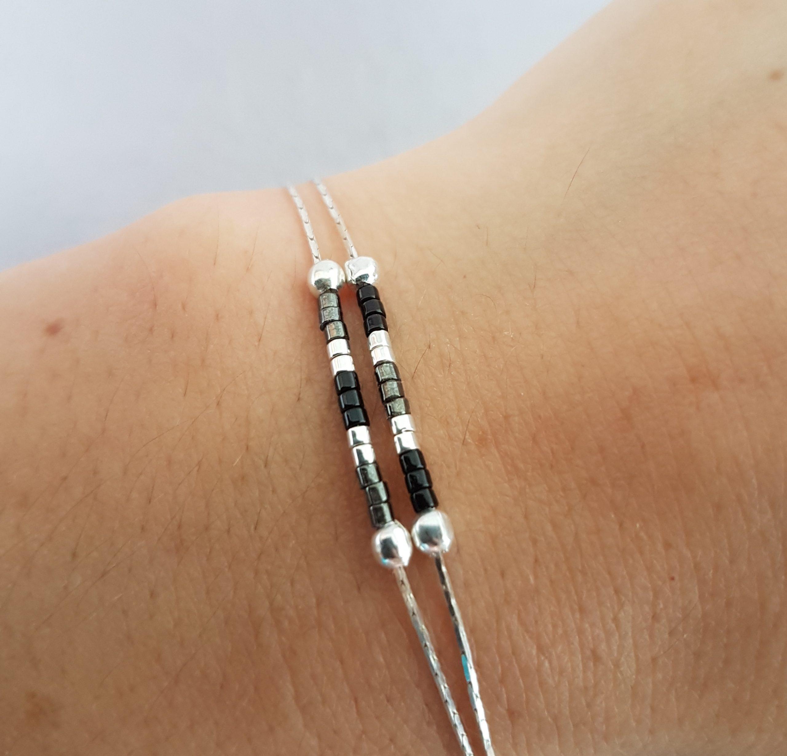 Bracelet LES PETITS CUMULABLES [noir]
