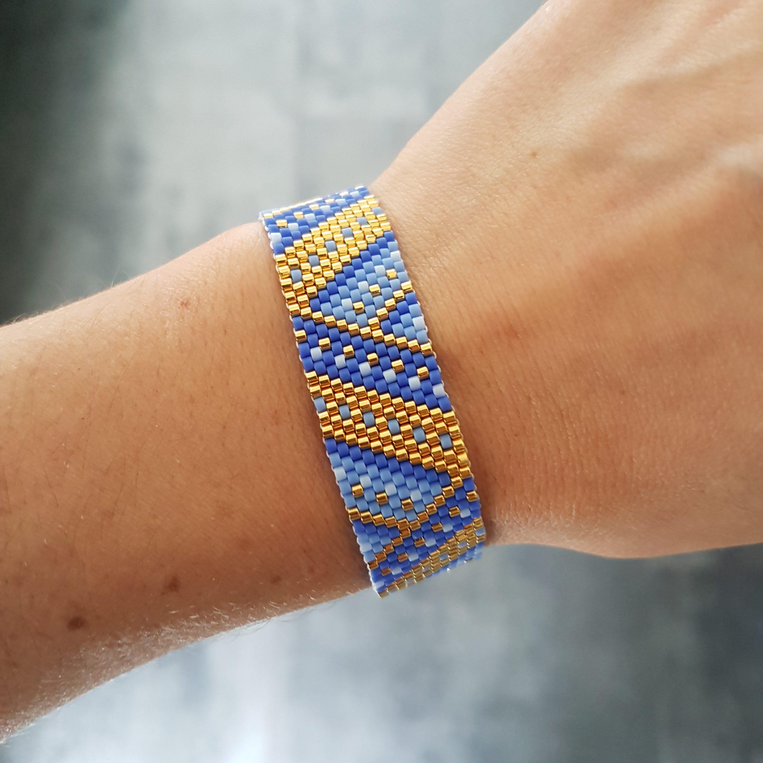 Bracelet MAÏA [bleu]