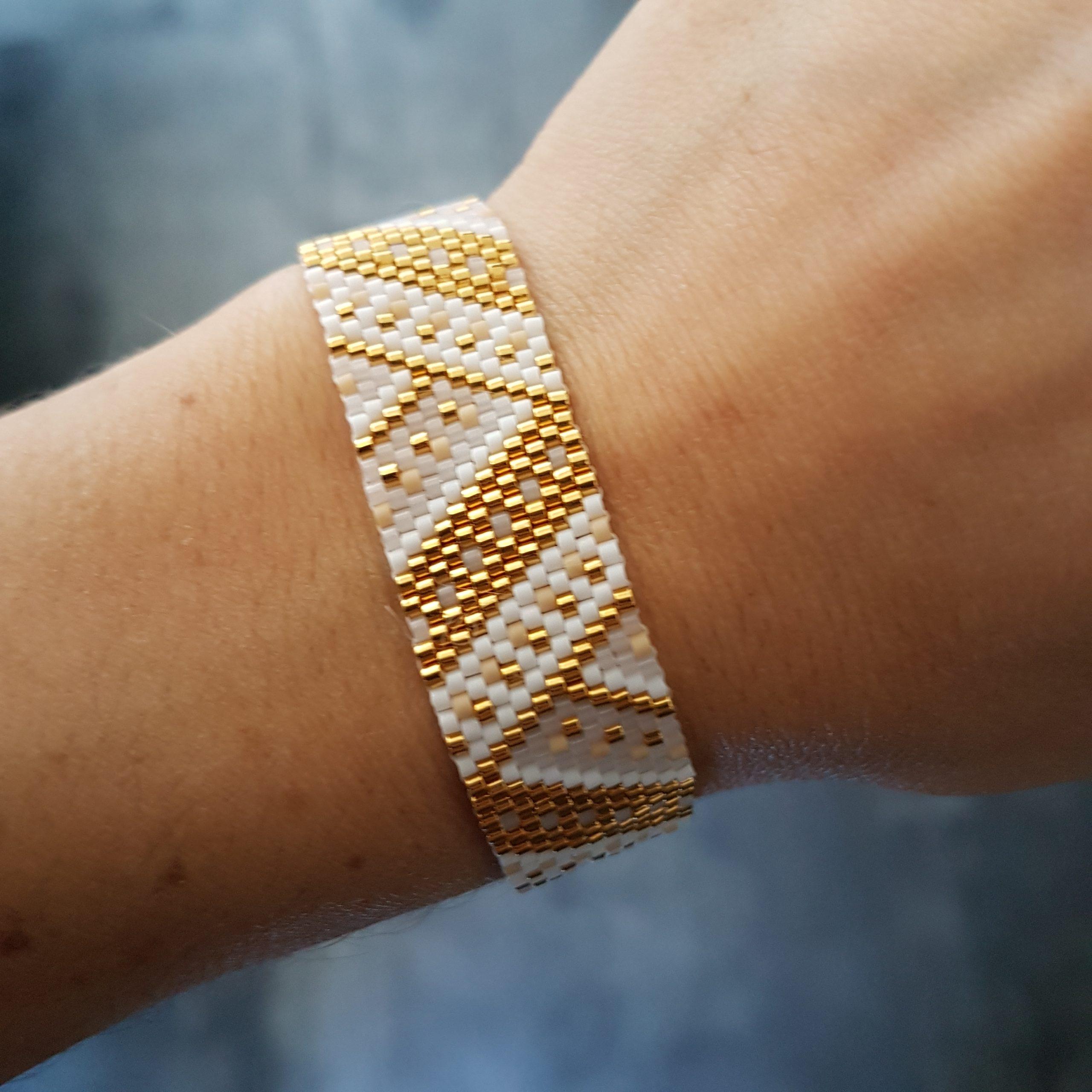 Bracelet MAÏA [blanc]