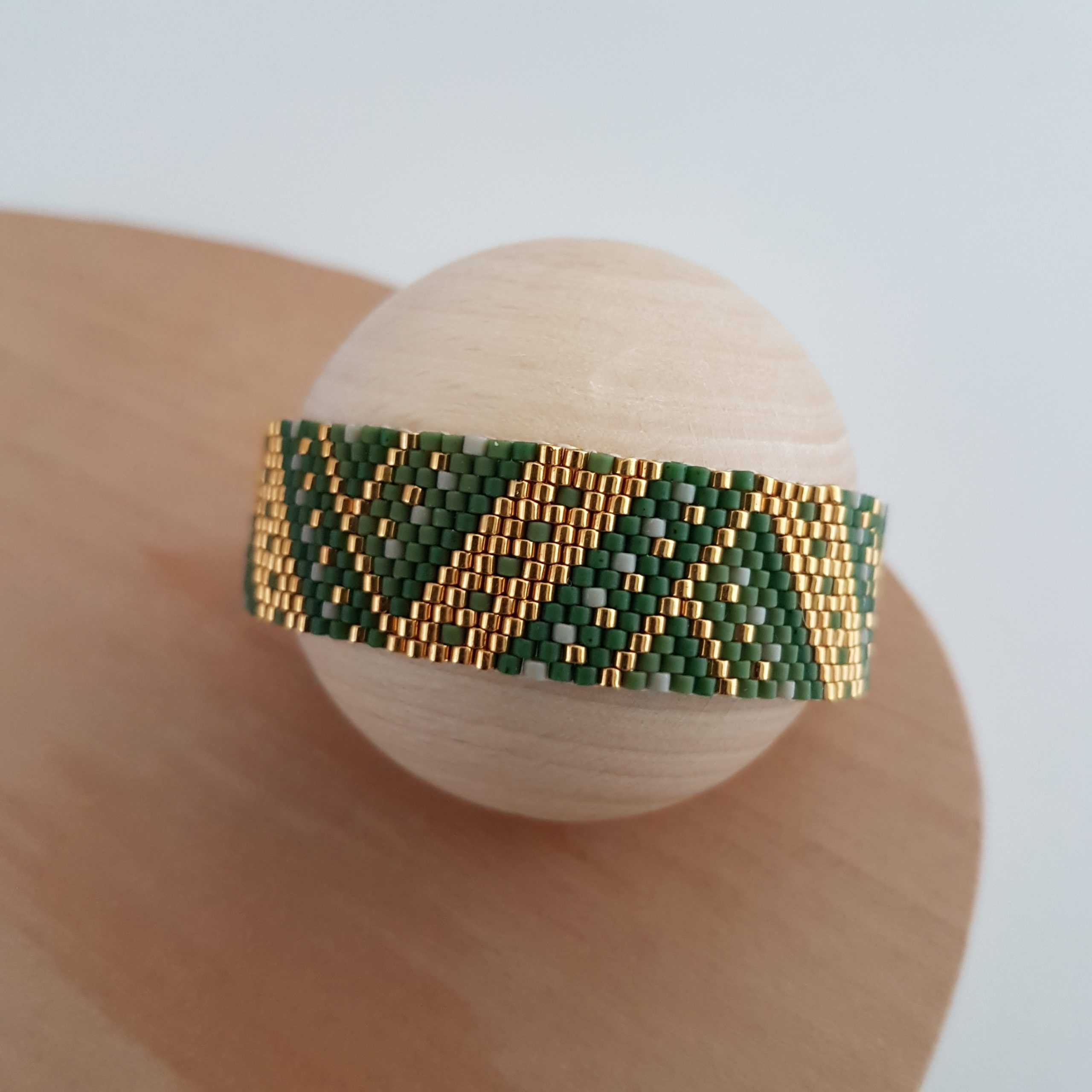 Bracelet MAÏA [kaki]